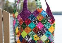 mondo bag pattern crafts cloth bags patchwork bags Stylish Quilted Handbags Patterns Inspirations