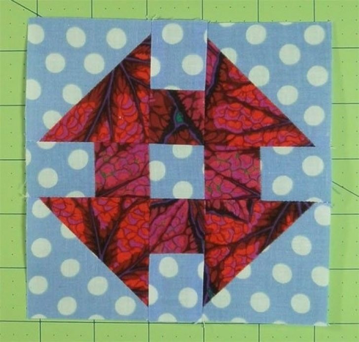 Permalink to Stylish Monkey Wrench Quilt Block Pattern