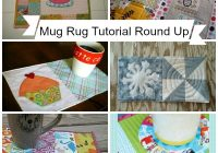 mug rug pattern Stylish Quilted Mug Rug Patterns Gallery