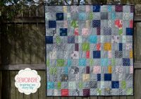 my charm pack cherry quilt from a free pattern sewcanshe Elegant Quilt Charm Packs Inspirations