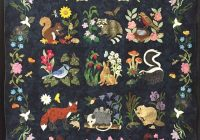 my woodland creatures quilt mary makhan pattern is 11 Cozy Woodland Creatures Quilt Pattern Inspirations