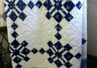 navy blue and white quilt patterns easy blue and white quilt Unique Blue And White Quilt Patterns Gallery