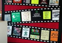 neat idea makes me think of making one out of the t shirts Stylish TShirt Quilt Pattern Ideas Gallery