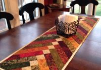 New 25 show stopping free table runner patterns sewcanshe Cool Simple Quilted Table Runner Patterns