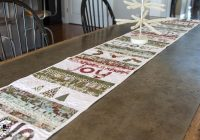New 28 free quilted table runners pattern guide patterns Cool Simple Quilted Table Runner Patterns