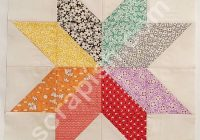New eight point star quilt block plus quilt pattern ideas 9 Unique 6 Inch Quilt Block Patterns Inspirations