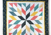 New giant star quilt pattern from cozy quilt designs 10 Unique Cozy Quilt Designs Patterns Gallery
