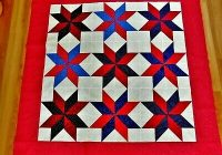 new large patriotic quilt top squares blanket table covering vivid colors ebay Beautiful Ebay Cotton Fabric Quilting Ideas Gallery
