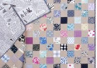 New liberty tana lawn and chambray checkerboard quilt the 9   Checkerboard Quilt Pattern Gallery