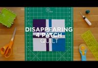 New make a disappearing four patch quilt snips 10 Modern Disappearing 4 Patch Quilt Patterns Gallery