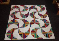 New pin on 20 log cabin pineapple 10 Interesting Curved Log Cabin Quilt Pattern