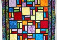 New projects from stained glass quilt designed bob bluprint 11   Stained Glass Window Quilt Pattern Gallery