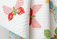 new quilt pattern neue patchwork anleitung butterfly Stylish Butterfly Patterns For Quilts Inspirations