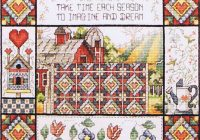 New spring quilt New Quilt Cross Stitch Patterns Gallery