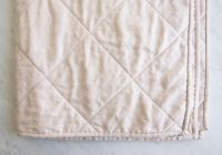 New wholecloth quilts in mineral linen purl soho 10 Modern Wholecloth Quilt Patterns Inspirations