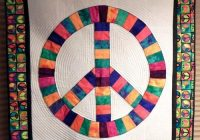nieces peace sign quilt quilts quilt blocks peace quilts Peace Sign Quilt Pattern Inspirations