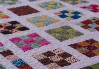 nine patch a day quilt along quiltfinally finished Interesting Nine Square Quilt Patterns