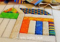 no sew quilting with fabric and foam no sew quilts quilt Unique No Sew Quilt Patterns Gallery