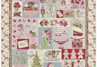 noel the vintage spool vintage christmas quilt quilt Cozy Vintage Christmas Quilt
