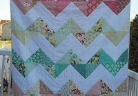 obsessed with this chevron quilt made with the basic grey Elegant Chevron Quilt Pattern Using Rectangles