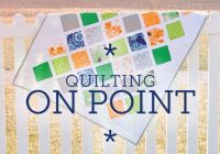 on point quilting tips and calculations quilting tips Stylish Setting Triangles For On Point Quilts Gallery
