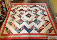 one simple block makes a charming scrap quilt quilting digest Split Nine Patch Quilt Pattern Gallery