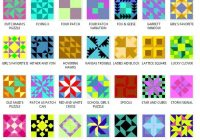 online quilt block pattern library 16 patch star quilt Cool Four Patch Quilt Block Patterns Inspirations