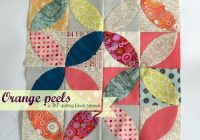 orange peel tea leaves tutorial quilt quilt patterns Elegant Orange Peel Quilt Pattern