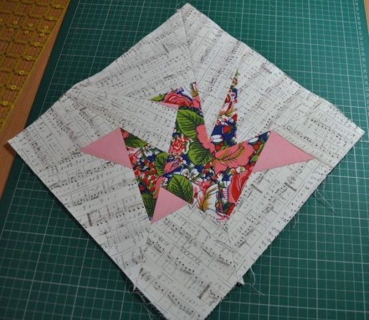 Permalink to Modern Origami Crane Quilt Pattern Gallery