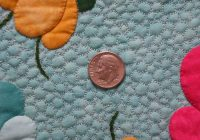 outline quilting for machine applique Cool Quilting Stitching Patterns Inspirations