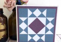 paper patchwork square star quilt Unique Silhouette Quilt Patterns