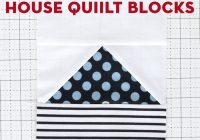 paper pieced house quilt blocks quilt along week 2 polka Interesting House Quilt Block Tutorial Inspirations