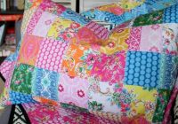 patchwork pillow sham pattern pdf Stylish Quilted Pillow Sham Pattern Gallery