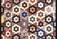 patchwork quilt patterns free patchwork hexagon pattern Unique Hexagon Patchwork Quilt Patterns Gallery