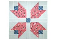 patchwork tulips quilt block pattern Modern Patchwork Quilt Blocks Patterns Inspirations