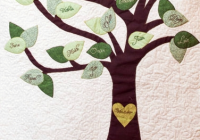 personalized family tree quilt for sale on etsy family Stylish Family Tree Quilt Pattern