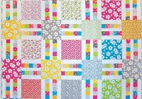 picket fence quilt pattern Interesting Layer Cake Quilt Patterns