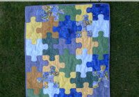 pieces polly jigsaw puzzle ba quilt free pattern Interesting Puzzle Piece Quilt Pattern