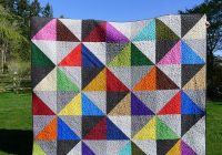 pieces polly urban scandinavian modern half square Stylish Easy King Size Quilt Patterns Gallery