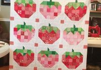 pin kelly fox on quilty goodness quilts farm quilt Elegant Strawberry Quilt Pattern Inspirations