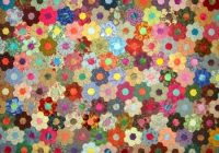 pin on hexagon quilts Unique Hexagon Flower Quilt Pattern Inspirations