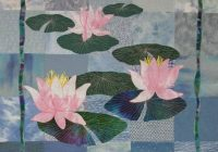 pin on quilt projects Interesting Water Lily Quilt Pattern Inspirations