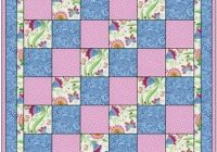 pin on quilting Cool Quilt Patterns Using 3 Fabrics Gallery