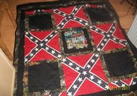 pin on quilts Unique Confederate Flag Quilt