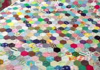 pin on vintage approach Unique Hexagon Patchwork Quilt Patterns Gallery