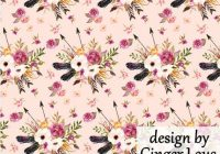 pink boho floral fabric quilting fabric the yard cotton flowers feathers fabric nursery organic cotton knit minky fabric lg 7082685 New Pink Floral Quilting Fabric Inspiration Gallery