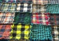 plaid flannel rag quilt quilts flannel rag quilts rag Elegant Flannel Rag Quilt Pattern Inspirations