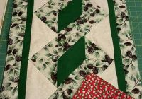 pole twist table runner free pattern quilts table Modern Quilted Table Runner Patterns Gallery