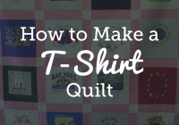 quick and easy t shirt quilt tutorial national quilters circle T Shirt Quilt Patterns For Beginners Inspirations