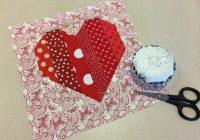 quick heart quilt block tutorial on bluprint Heart Quilt Block Patterns Gallery